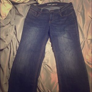 Old Navy Flare Mid-Rise cropped jean 10